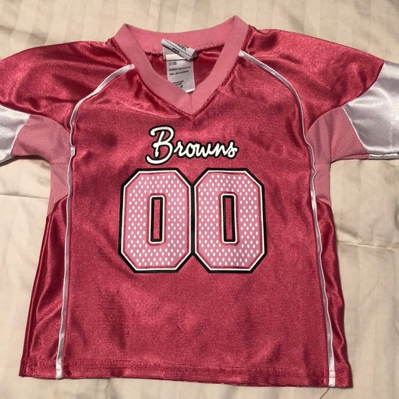 NFL Team Apparel Shirts & Tops | Toddler Girls Cleveland Browns  hot sale